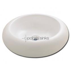 Polaris PV021B Bisque Porcelain Vessel Sink