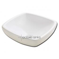 Polaris PV081B Bisque Porcelain Vessel Sink