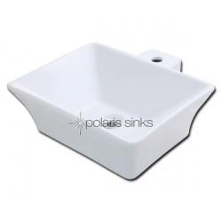 Polaris PV092W White Procelain Vessel Sink