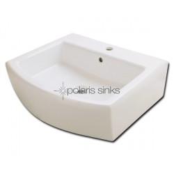 Polaris PV003B Bisque Porcelain Vessel Sink