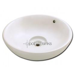 Polaris PV043B Bisque Porcelain Vessel Sink
