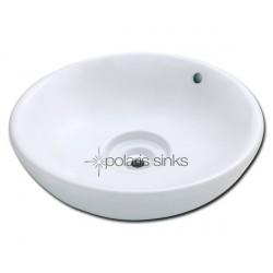 Polaris PV043W White Procelain Vessel Sink