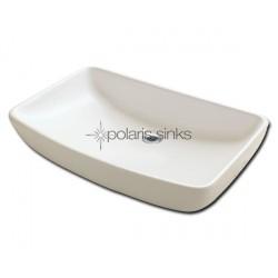 Polaris PV053B Bisque Porcelain Vessel Sink