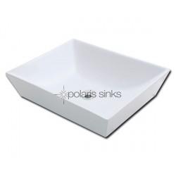Polaris PV073W White Procelain Vessel Sink