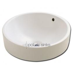 Polaris PV8122B Bisque Porcelain Vessel Sink