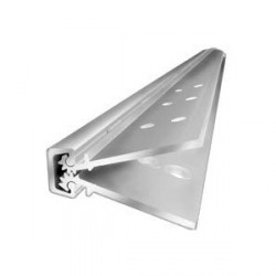 """ABH Hardware A110HDCL83 Full Concealed 83"""" Geared Continuous Hinge"""