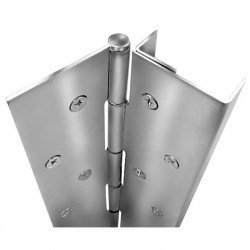 ABH Hardware A505 Full Concealed Edge Guard Pin & Barrel Geared Continuous Hinge