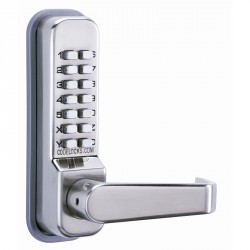 """Codelocks CL400 Series Mechanical Lock Door Lever, For Door Thickness-1-3/8"""" - 2-3/8"""""""
