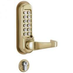 """Codelocks CL500 Series Mechanical Heavy Duty Lock Door Lever, For Door Thickness-1-3/8"""" - 2-3/8"""""""