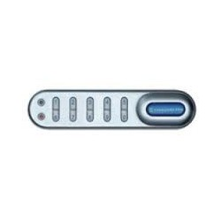 """Codelocks KL1005 Electronic Kitlock Locker Lock Custom Packed with 5/8"""" Spindle, to fit 1/4"""" Thick Material, Finish-Silver Grey"""
