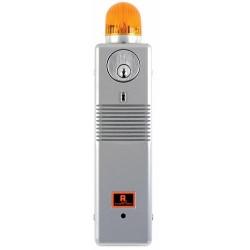 Alarm Lock PG21MSS Pilfergard 95 Decibel Surface Mount Door Alarm with Amber Strobe Light