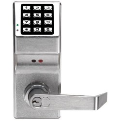 Alarm Lock DL3000WPIC Weather Proof Trilogy T2 Cylindrical Keyless Electronic Keypad Lock