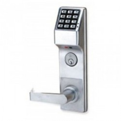 Alarm Lock DL3500CRL Trilogy High Security Mortise Digital Keypad Lock w/ Audit Trail Left Hand