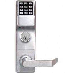 Alarm Lock DL3500CRR Trilogy High Security Mortise Digital Keypad Lock w/ Audit Trail Right Hand