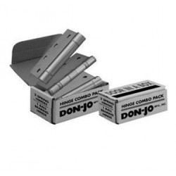 Don-Jo CP94545 Hinges for Combo Pack, Satin Stainless Steel Finish