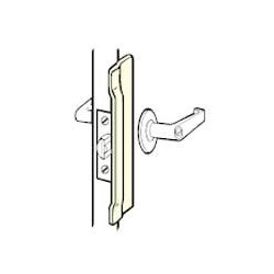 Don-Jo NLP-106 Latch Protector, Satin Stainless Steel Finish