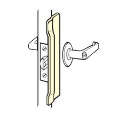 Don-Jo NLP-110 Latch Protector, Satin Stainless Steel Finish
