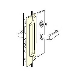 Don-Jo MLP-111 Latch Protector, Satin Stainless Steel Finish