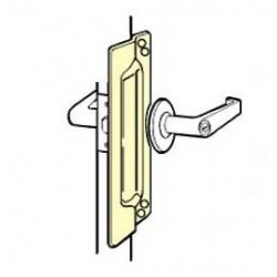 Don-Jo LP-111 Latch Protector, Satin Stainless Steel Finish