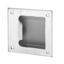 Rockwood BF97 Barrier Free Flush Pull, Stainless Steel Satin