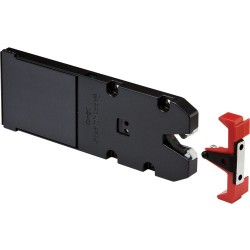 CompX StealthLock Keyless Invisible Hidden Cabinet Locking System RL-110 Receiver Latch with Strike and Installation Hardware