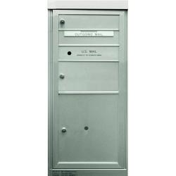 2B Global Commercial Mailbox 1 Single Height Tenant Door 1 Double Height Tenant Door 1 Parcel Locker Door -ADA48EX Series S1D1P1