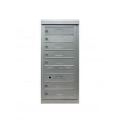 2B Global Commercial Mailbox 7 Single Height Tenant Door -Flex Series S7