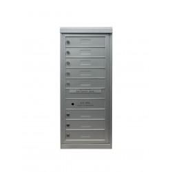 2B Global Commercial Mailbox 8 Single Height Tenant Door -Flex Series S8