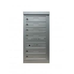 2B Global Commercial Mailbox 6 Single Height Tenant Door -ADA54 Series S6