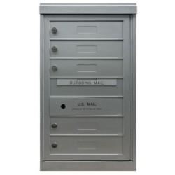 2B Global Commercial Mailbox 5 Single Height Tenant Door -Flex Series S5