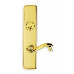 Omnia 11055 Classic Scroll Lever Mortise Lockset