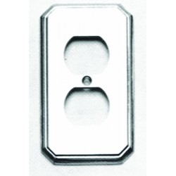 Omnia 8014-R Traditional Switchplate - Receptacle