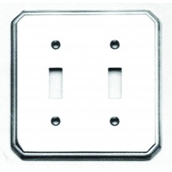 Omnia 8014-D Traditional Switchplate - Double