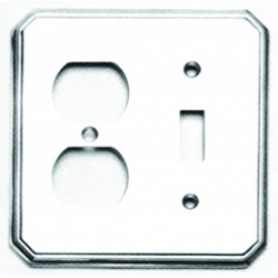 Omnia 8014-C Traditional Switchplate - Combination