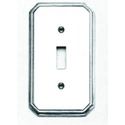 Omnia 8014-GFS Traditional Switchplate - Single w / GFCI