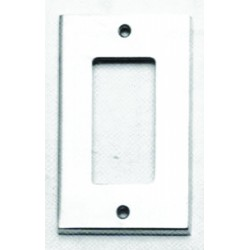 Omnia 8023-S Modern Switchplate - Single Rocker Cutout