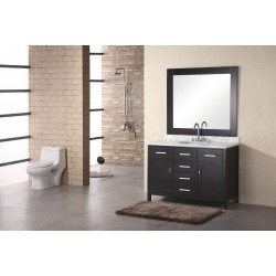 "Design Element London 48"" Single Sink Vanity Set"
