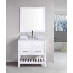 "Design Element London 36"" Single Sink Vanity Set"