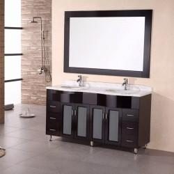 """Design Element Bello 61"""" Double Sink Vanity Set"""