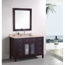 """Design Element Venetian 48"""" Single Sink Vanity Set"""