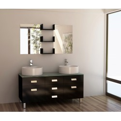 """Design Element Wellington 55"""" Double Sink Vanity Set"""
