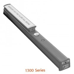 RCI 1300 Series Electrified Rim Exit Device for Fire Doors with Alarm Module (12-24 VDC Remote and 9V Battery Backup)