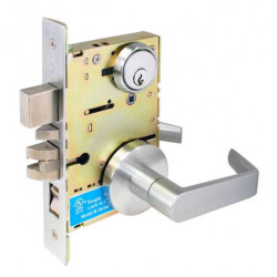 Cal-Royal SC Series Grade 1 Heavy Duty Hospital Latch Sectional Trim Mortise Lockset