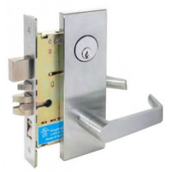 Cal-Royal SC Series Grade 1 Heavy Duty Hospital Latch Escutcheon Trim Mortise Lockset