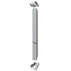 """Cal-Royal 418 96"""" T-Shaped Removable Mullion Non-Fire Rated Application"""