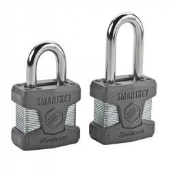 Kwikset Smartkey Rekeyable Laminated Steel Padlock