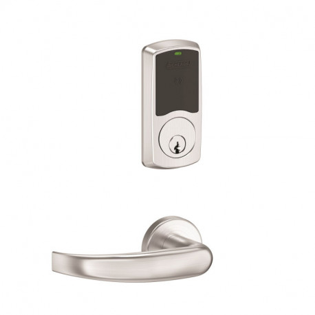 Schlage Commercial LE Series Wireless Lock - Greenwich Mortise/Mortise Deadbolt Electronic Security Lock