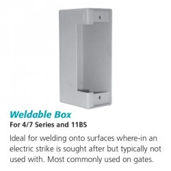 RCI Weldable Box For 4/7 Series and 11BS
