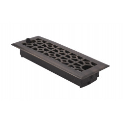 Brass Accents A03-R2 Classic Floor Register with Damper