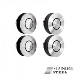 Jako SLDF-009 Stainless Steel Sliding Round Miami Door System
